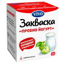 Инновационная бактериальная Пробио йогурт VIVO